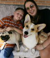 (DENVER, Colo., Aug. 24, 2004)  Story is about how families decide when it's time to get a pet....