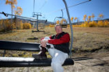 PHOTO BY CHRISTOPHER TOMLINSON--Steve Bailey, owner of Powderhorn Resort on the Grand Mesa, about...