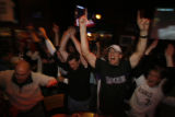 Rockies fans go crazy as they advanced to the world series after sweeping Arizona on their last...