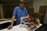 Zach Glenn, 18, Sr. (cq), Student Body President, in a classroom at Smoky Hill High School in...