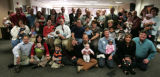 22 families adopted 23 children today at Arapahoe County Courthouse  as Adoption Options gathered...