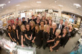(Denver, Colo., Oct. 17, 2007) Representatives of the cosmetics department.  Nordstrom Cherry...