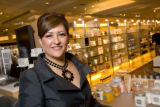 (Denver, Colo., Oct. 17, 2007) Yolanda Larson, General Manager of Nordstrom at Cherry Creek. ...