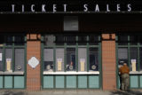 Lines were small at Coors Field in Denver, Colo. on Monday morning when tickets for the World...