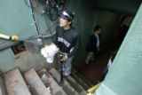 Colorado Rockies, Kazuo Matsui, stands in the dugout during practice Tuesday Oct. 23, 2007, at...