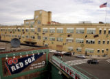 [EPS101] Fenway High School located just behind the center field bleachers Tuesday afternoon...