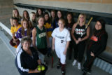 2007 All-Colorado softball team, with All-Colorado coach at Legacy High School, 2701W. 136th Ave....