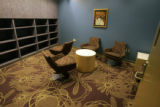 One of the private rooms at the new teen center  at Children's Hospital at the Anshutz Medical...