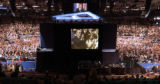NEW YORK CITY, NY - SEPT. 2, 2004 -- President George W. Bush addresses the 2004 Republican...