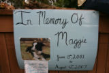 "The Maggie Memorial site. (HRH) Her Royal Highness Margaret, ""Maggie"" Egan a 6 year old..."