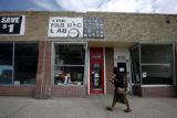 The Fabric Lab is a tiny place squeezed in on the 3100 block of Colfax Ave.,on Colfax Ave., in...