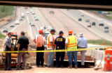 Jeffco, Colo.-May 20,2004- NTSB and other officals investigate the scene Thursday (5-20-04) at the...