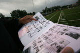 during Monach HS football game against Eagle Crest at Centaurus High School in Lafayette, Colo. on...