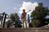(DENVER, Colo., SEPTEMBER 3, 2004) A special taste of the blues provided by local blues musician,...