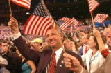 NEW YORK CITY, NY - SEPT. 2, 2004 -- President George W. Bush addressed the 2004 Republican...