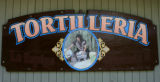 The sign for Tortilleria La Esmeralda  in Lafayette, Colo. July 16, 2007.  Places to Eat! Drink!...