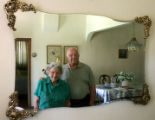 Louise and her husband, Tony Caruso (cq), at their home in Denver, July 16, 2007. They have been...