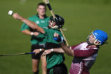 (Boulder, Colo., September 5, 2004) Donal Moore (cq), left, of Boston's Fr. Tom Burkes Hurling...
