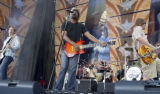NYET115 - **FILE**Hootie & the Blowfish perform during the Farm Aid concert at Germain...