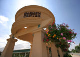 The exterior of Lafayette Florist and Gift Shop  in Lafayette, Colo. on July 16, 2007.  Places to...