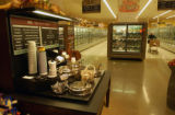 (DENVER, Colo., September21, 2004) Signature Soups display inside Safeway Grocery store, East Yale...