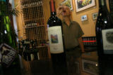 The Front Range sustains a growing wine industry. On Monday August 6, 2007 John Garlich(cq) opened...