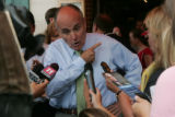 "Republican presidential candidate, Rudy Giuliani says ""they asked a lot of good hard..."