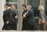 0295 0295 Former Qwest CEO Joe Nacchio, leaves the Alfred A. Arraj Federal Courthouse after being...
