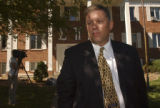 (Fort Collins, Colo., September 7, 2004)  Mark Briscoe, Executive Director of Sigma Pi, stands...