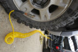Some off-road drivers equip their vehicles with air compressors to re-inflate tires at the end of...