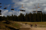 (COPPER MOUNTAIN  Colo., September 8, 2004)  During the summer months Copper Mountain ski Area...