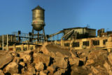 Piles of concrete at the site of the redevelopment of the former Gates Rubber Company in Denver.,...