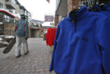 Out of country visitors to Vail Village, really get their moneys  worth this year, Monday...