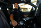 SH07K117INFANTCASES Nov. 9, 2007 -- San Pablo police officer Jose L. Barajas, age 37, is...
