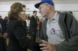 {Pueblo, Colorado.  September 24, 2004}    Teresa Heinz Kerry, wife of Democratic Presidential...