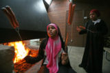 (NYT79) MINNEAPOLIS, Minn. -- Nov. 27, 2007 -- MUSLIMS-GIRL-SCOUTS-2 -- Shanci Hussin, left, and...