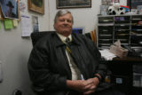 David A. Bell, Commander, Lakeside Police Department in his office in Lakeside, Colo. on Friday...