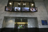 The front lobby entrance of the new business. DirectTV celebrated its Grand Opening Thursday June...