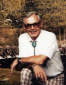 A photo of Lawrence Barker in 1980.  He died of colon cancer after working at Rocky Flats for...
