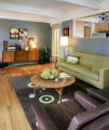 The living room in the home of Kristen Tait (cq), owner of the boutique, Decade, on June 13,...