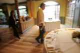 2818 Olives chef and owner Todd English prepares his Aspen restaurant for the opening party of the...