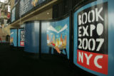 Signs of Book Expo 2007 are seen at Jacob Javitz Convention Center in New York, Sunday, June 03,...