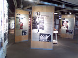 The nonprofit Colorado Sports Hall of Fame museum is located at Invesco Field at Mile High Stadium...