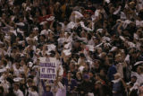 [176} Colorado Rockies fans cheer on there team in Game 4 of the World Series against the Boston...