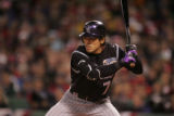 [ROX1300] Colorado Rockies Boston Red Sox inning of Game 1 of the World Series at Fenway Park in...
