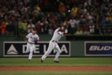 [ROX2990] Colorado Rockies Boston Red Sox inning of Game 1 of the World Series at Fenway Park in...