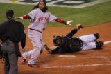 [1669]  Colorado Rockies Boston Red Sox  inning of Game 3 of the World Series on Saturday evening,...