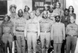 (NYT71) FORT HUACHUCA, Ariz. -- Nov. 1, 2007 -- COLORED-OFFICERS-CLUB-3 -- Army officers pictured...