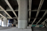 Traffic on 45 Street underneath an elevated portion of I-70 in Denver Thursday August 2,2007. The...