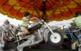 at the Boulder County Fair on Monday, Aug. 6, 2007 in Longmont, Colo.  ROCKYMOUNTAINNEWS/KASIA...